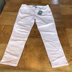 Wit & Wisdom Pink AbSolution Cropped Jeans Sz 6